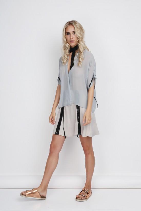 Robe Blouse Transparent
